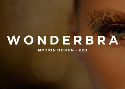WONDERBRA – MOTION DESIGN