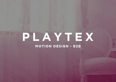 PLAYTEX – MOTION DESIGN